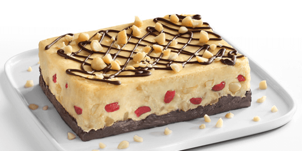 Cheesecake de macadamia con chocolate